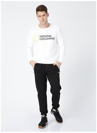 National Geographic Sweatpant Siyah